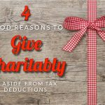 Turner-Bowman's Four Good Reasons To Give Charitably, Aside From Tax Deductions
