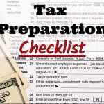 Lillian's Professional Services LLC's 2017 Tax Preparation Checklist