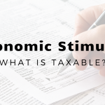 Which Stimulus Payments Are Taxable (and Which Aren't) For New York/New Jersey Metro Taxpayers